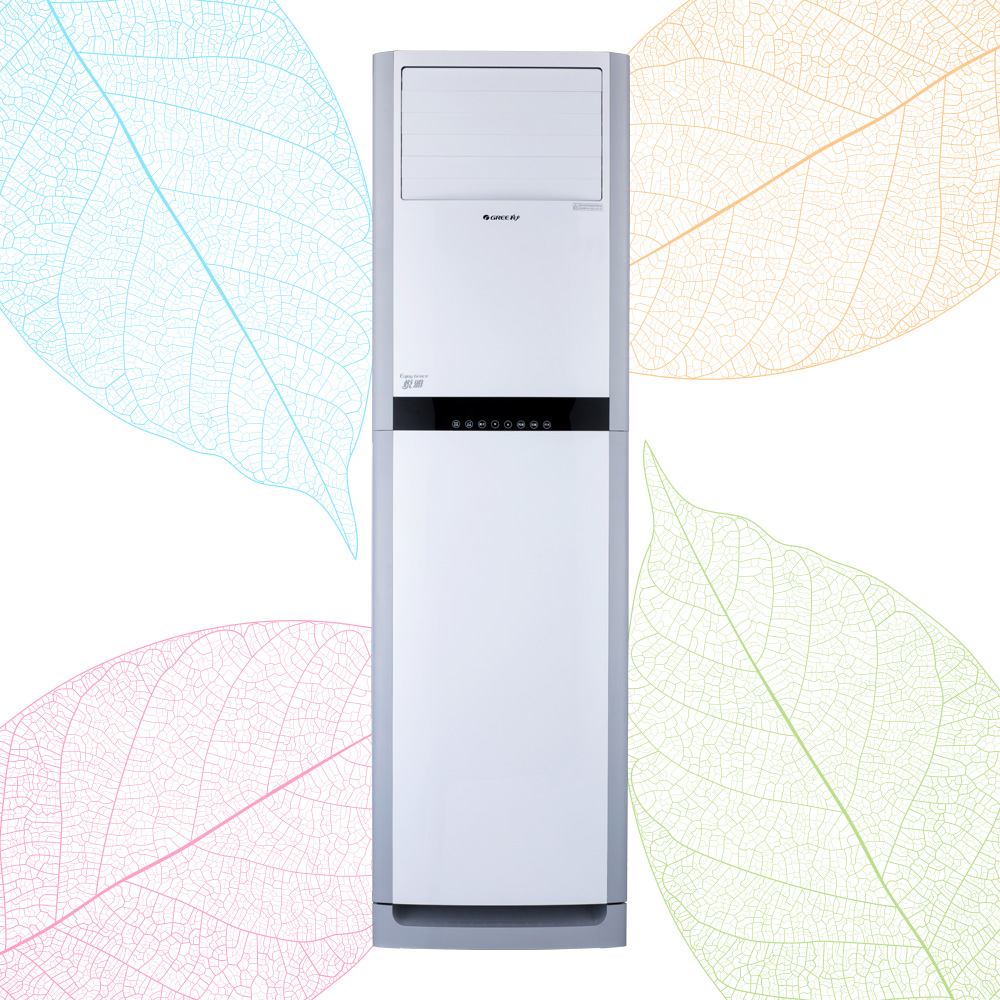 格力悦雅变频3级2匹柜机空调
